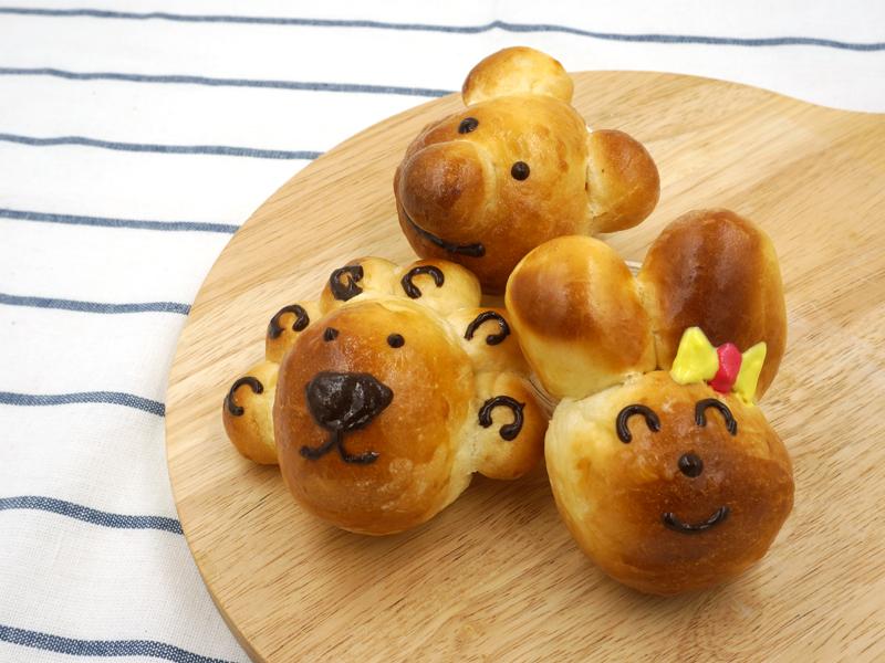 2019年5月 可爱动物造型面包  (90505m-su11) 令小朋友乐而忘返的烹饪